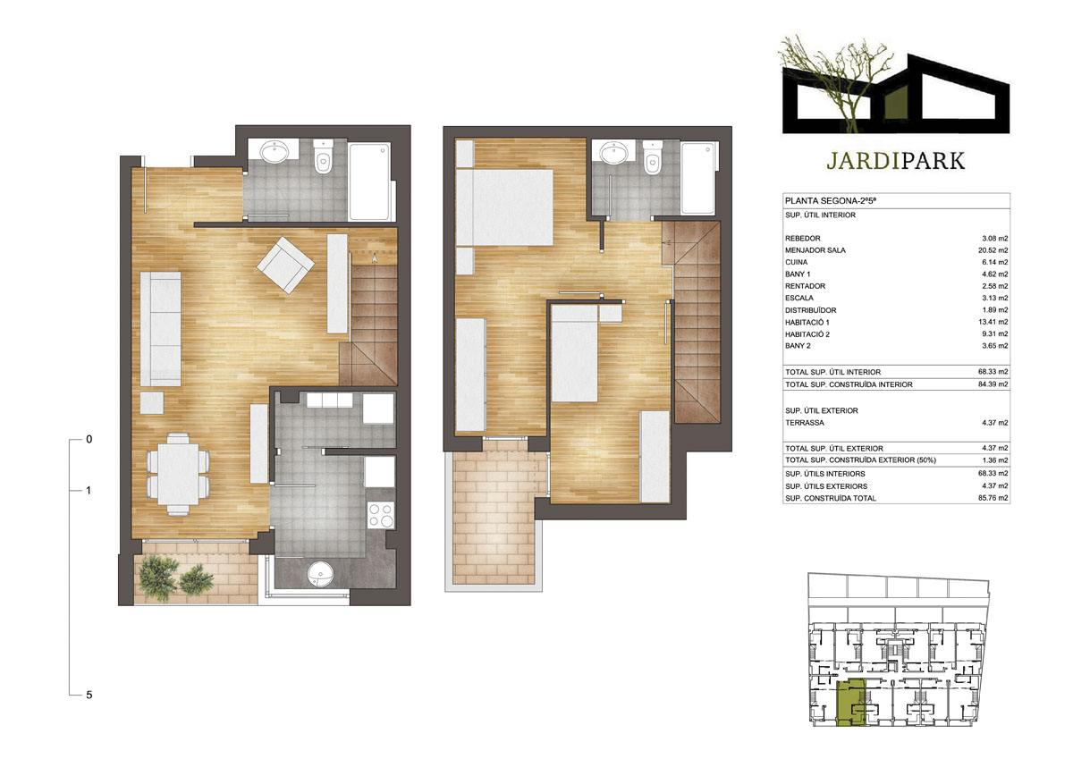 2d commercial building floor plan 2