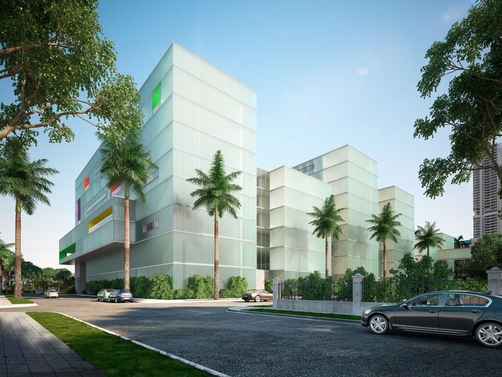 3D architectural visualizations panama