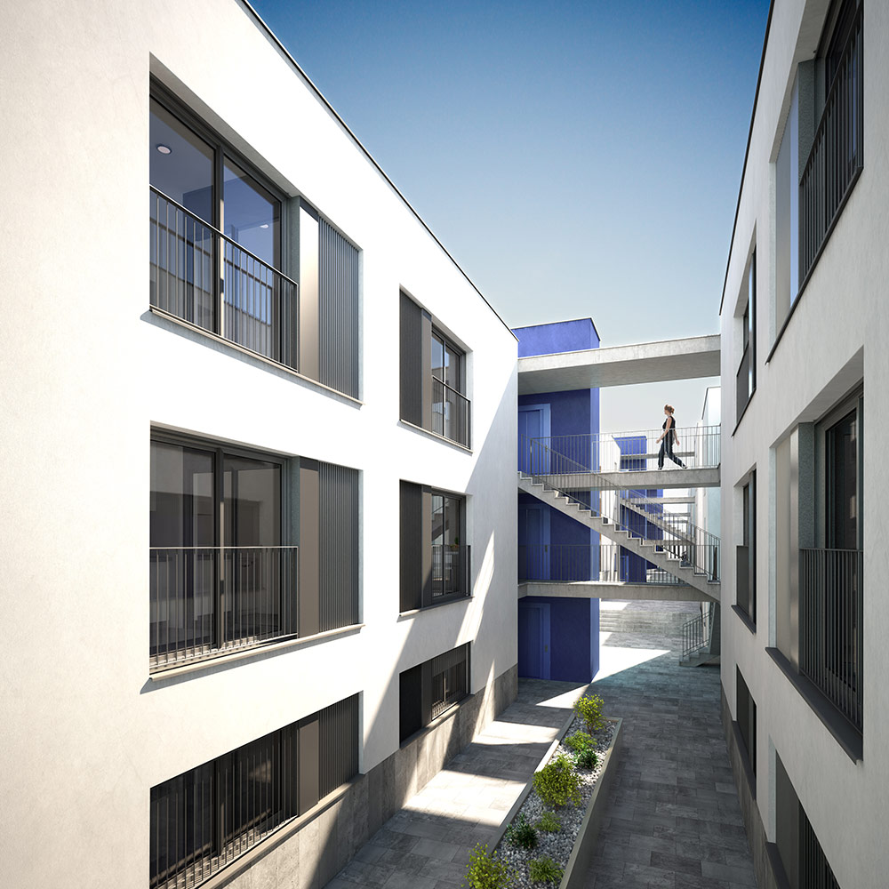 3d architectural exterior visualisation ibiza 2
