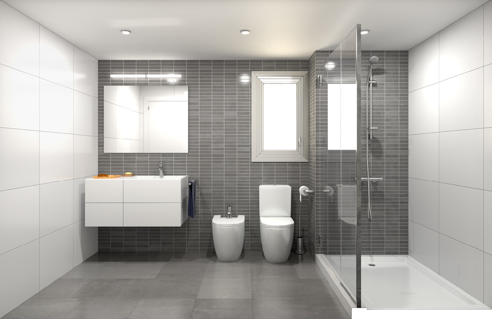 3d interior visualisation bathroom 2