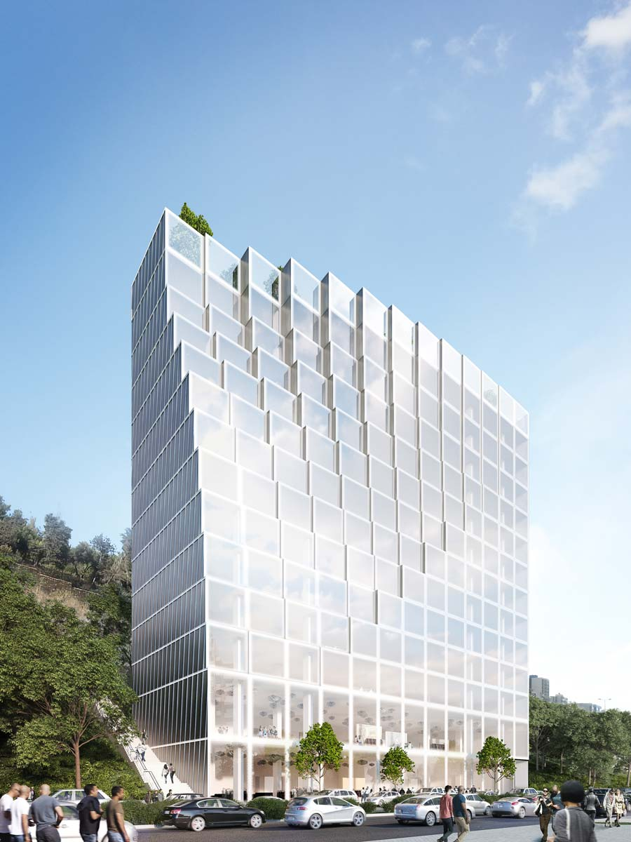 Architectural rendering office Beirut