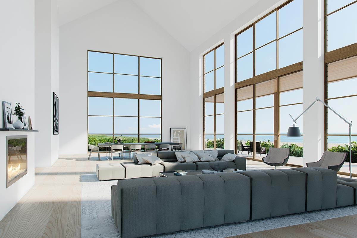Architectural rendering villa NY