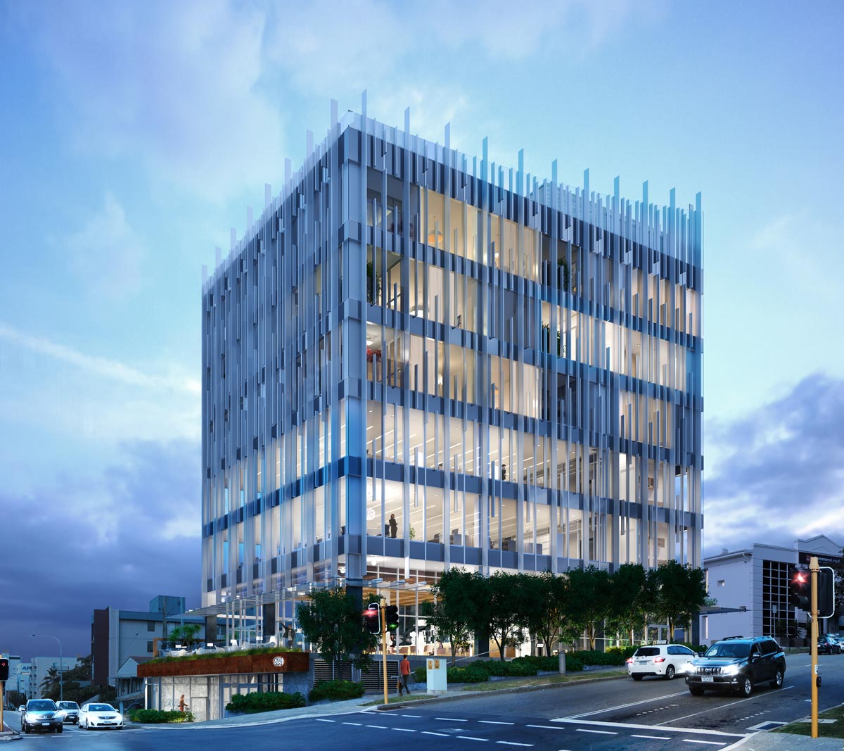 Architectural visualization building Perth
