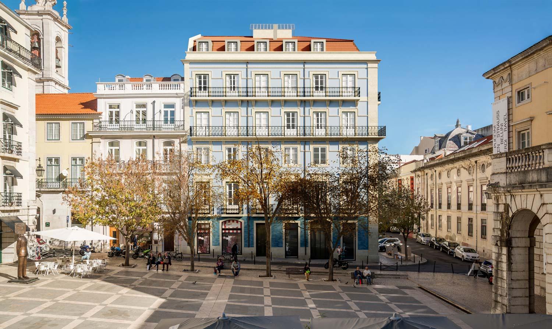 Architectural rendering building Lisbon