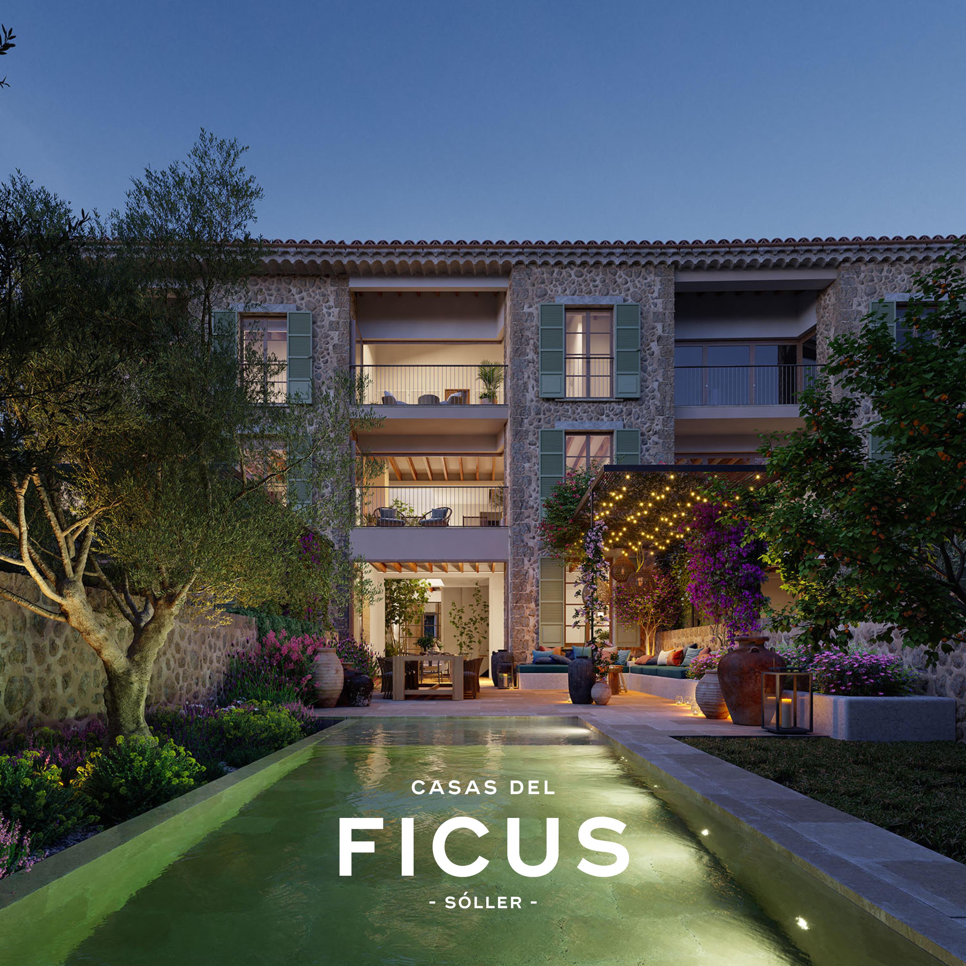 Casas Ficus branding renderings