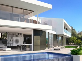 Rendering-3d-House-luxury-Bel Air (10)