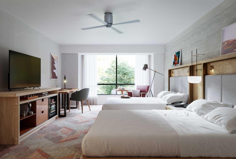 Rendering Hotel Gensler
