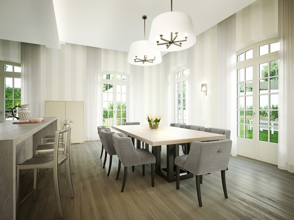 Architectural rendering interior
