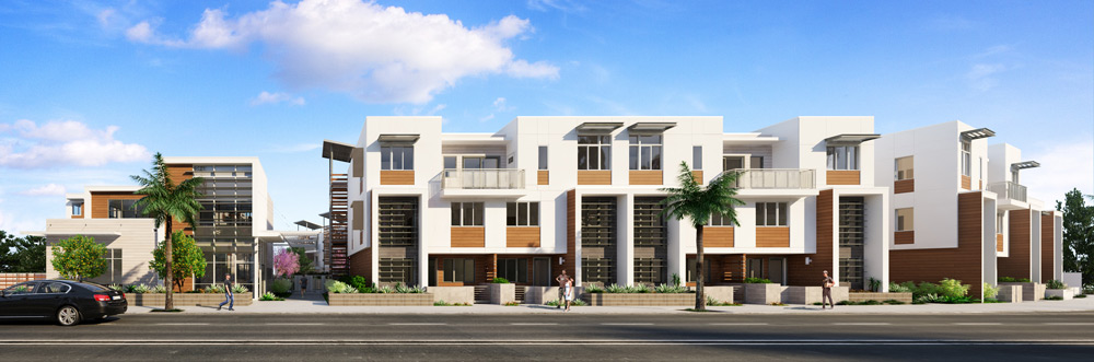 architectural-rendering-courtyard-community-LA-1
