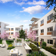 architectural-rendering-courtyard-community-LA