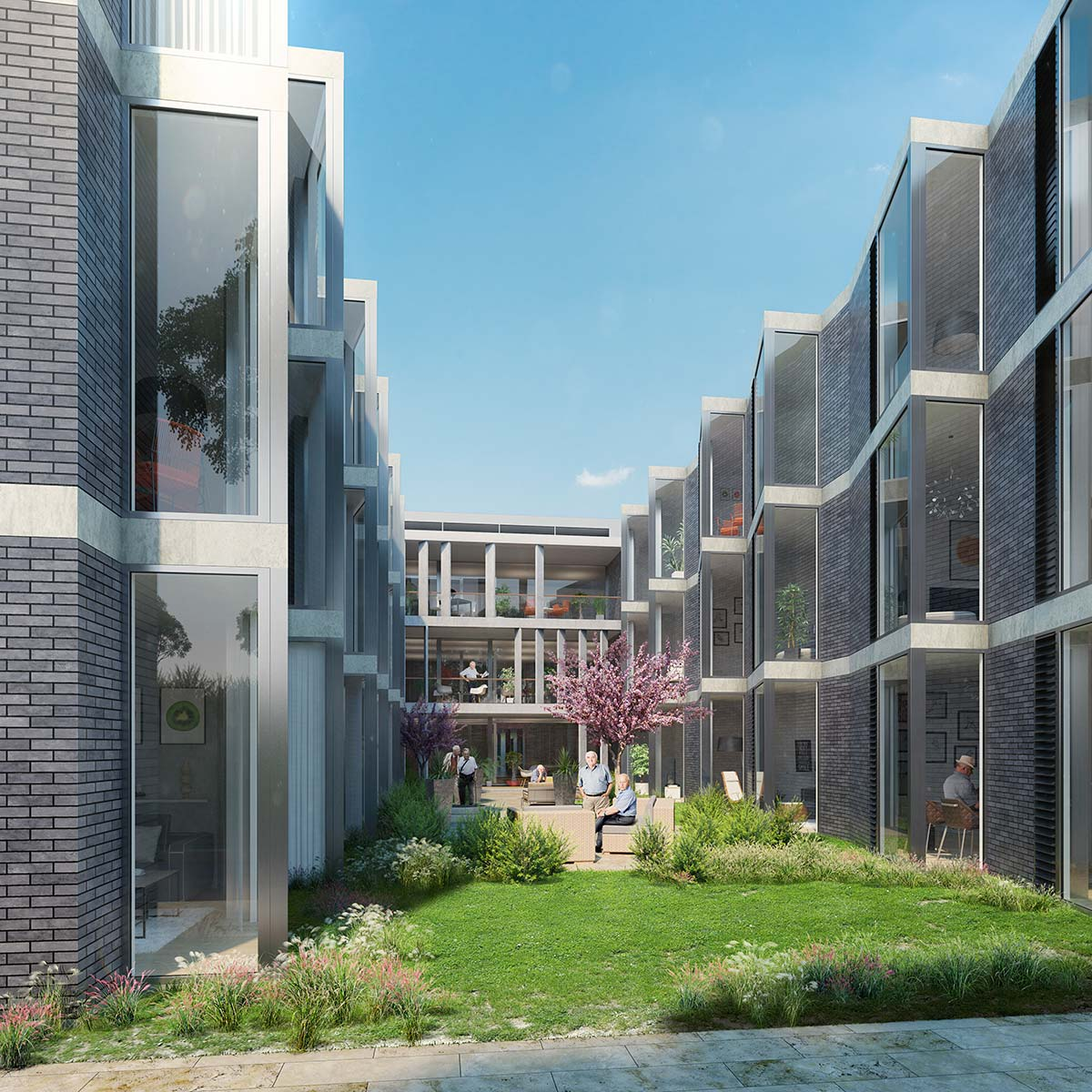 Architectural rendering St Hedwig in Sydney
