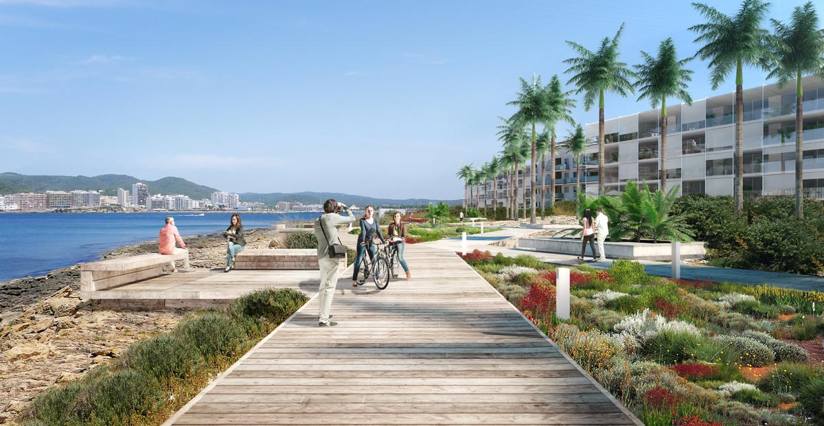 architectural rendering ibiza