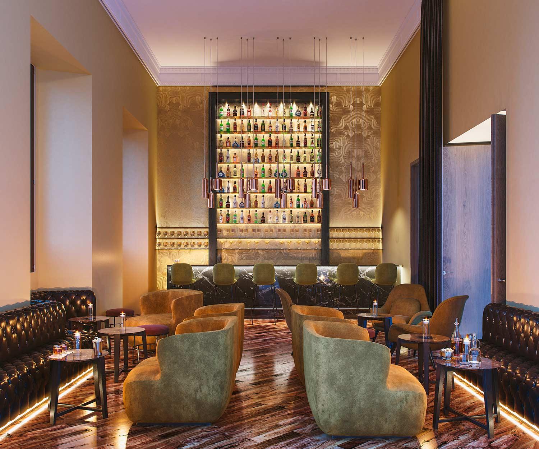 Architectural rendering Mercer Hotel Sevilla