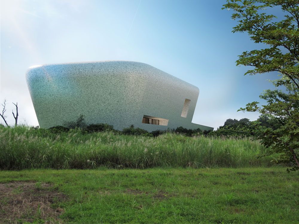 architectural rendering museum panama
