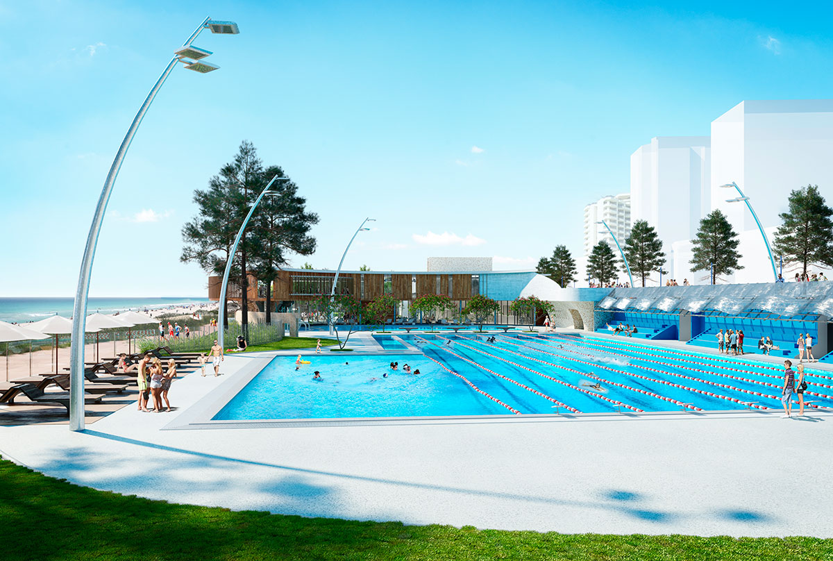 architectural rendering scarborough pool