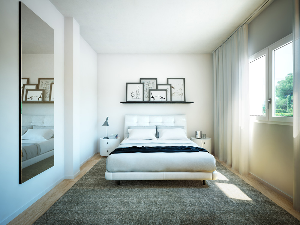 architectural rendering townhomes madrid