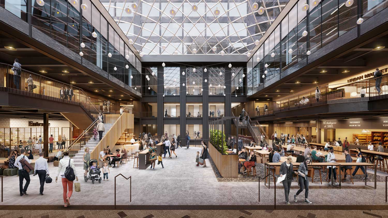 Architectural rendering Willis Tower