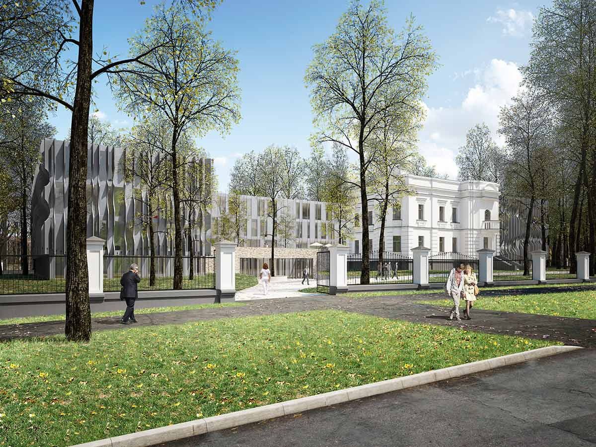 architectural renderings hospital moscow
