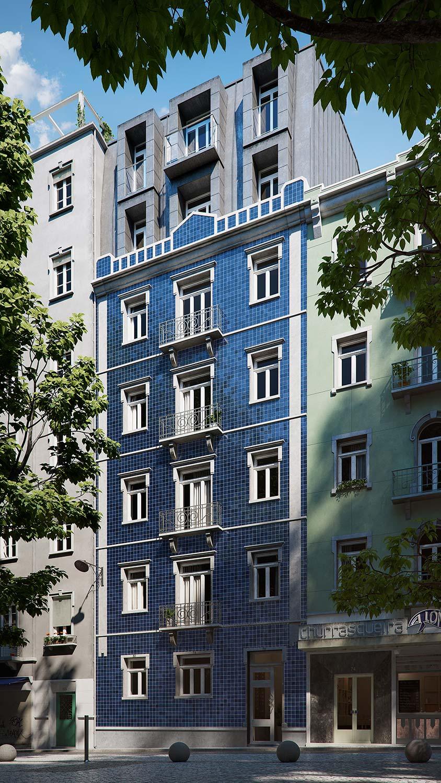 architectural renderings Lisbon
