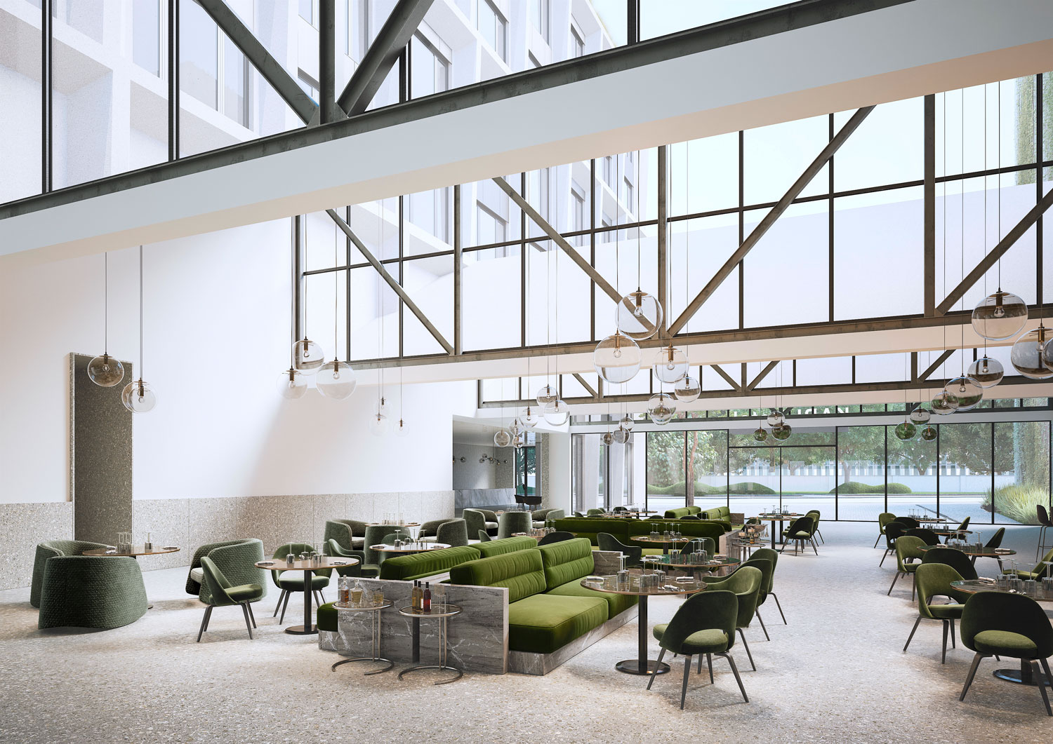 architectural visualisation hotel Chipperfield