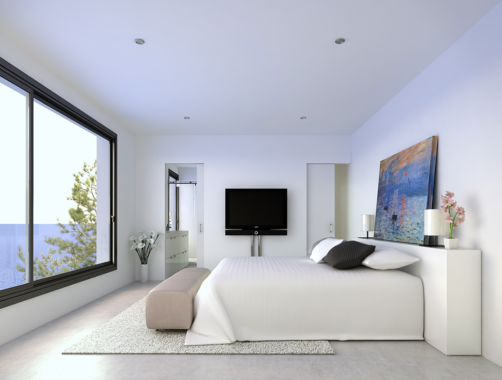 architectural visualisation house in ibiza 2