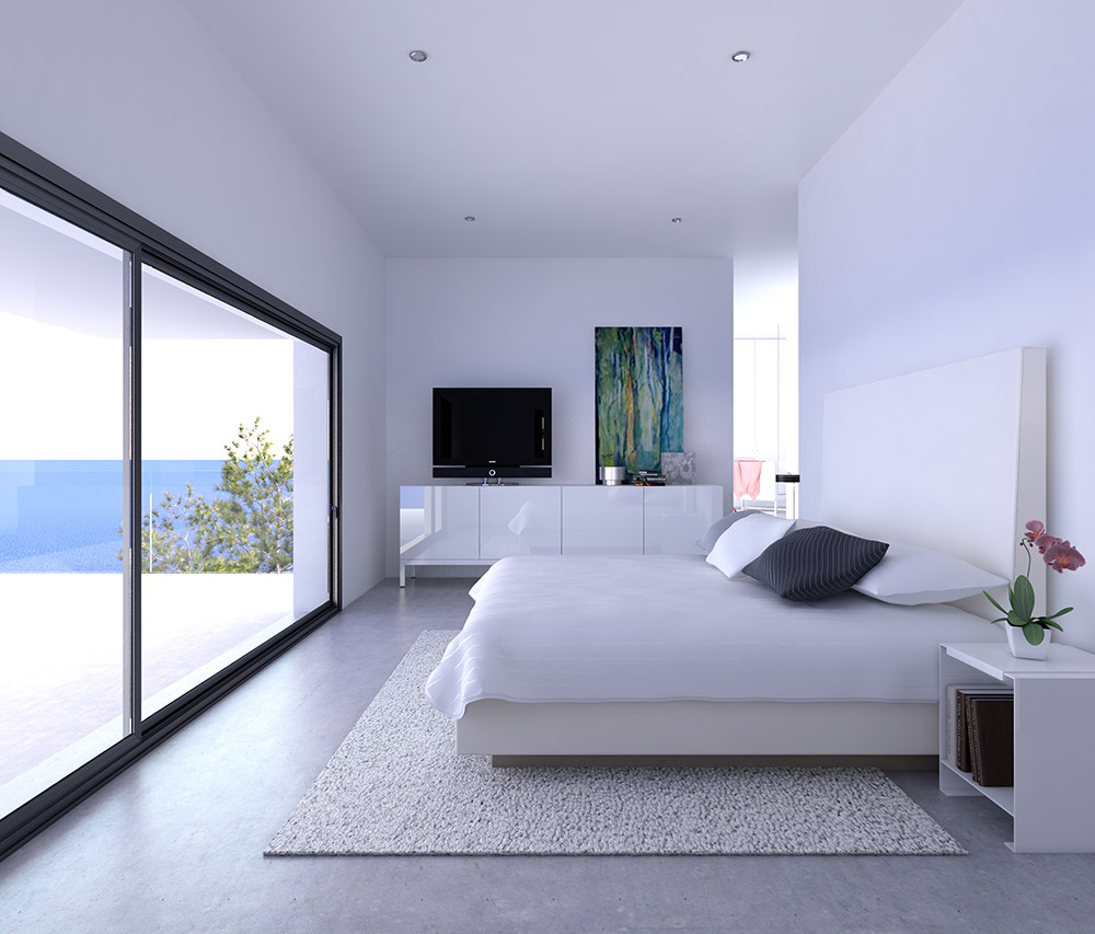 architectural visualisation house in ibiza 3