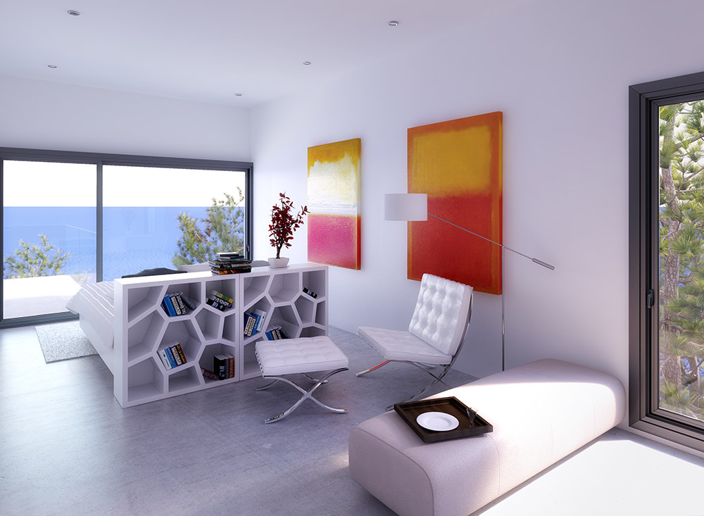 architectural visualisation house in ibiza 4
