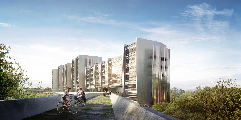 architectural visualisation lormont by rcr arquitectes