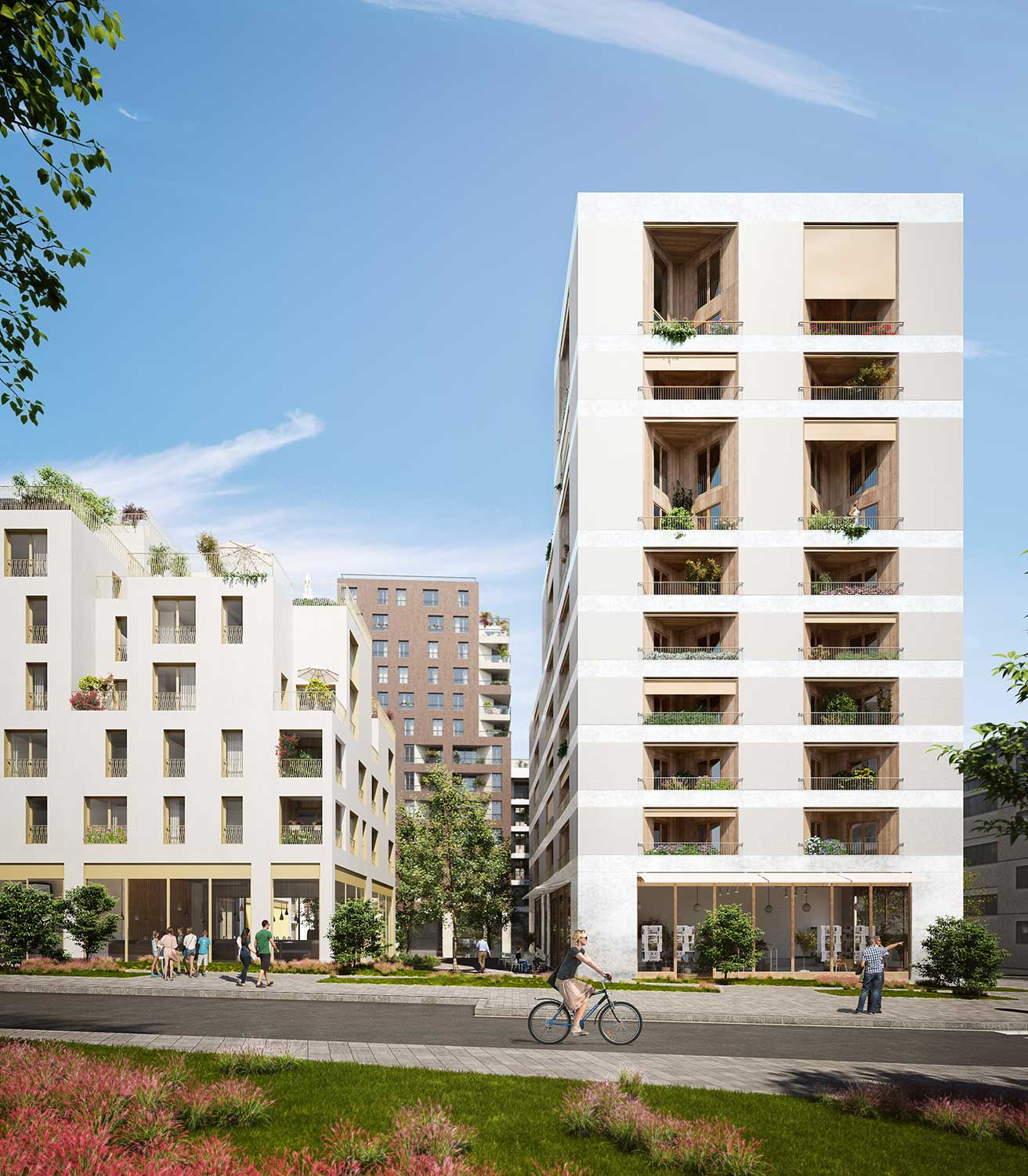 Architectural visualisation building in Massy