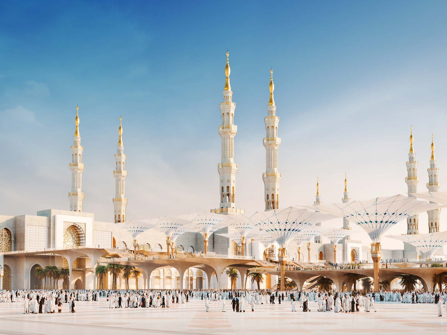 Architectural Rendering | Architectural visualisation mosque