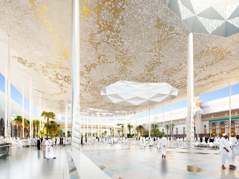 architectural visualisation medina mosque