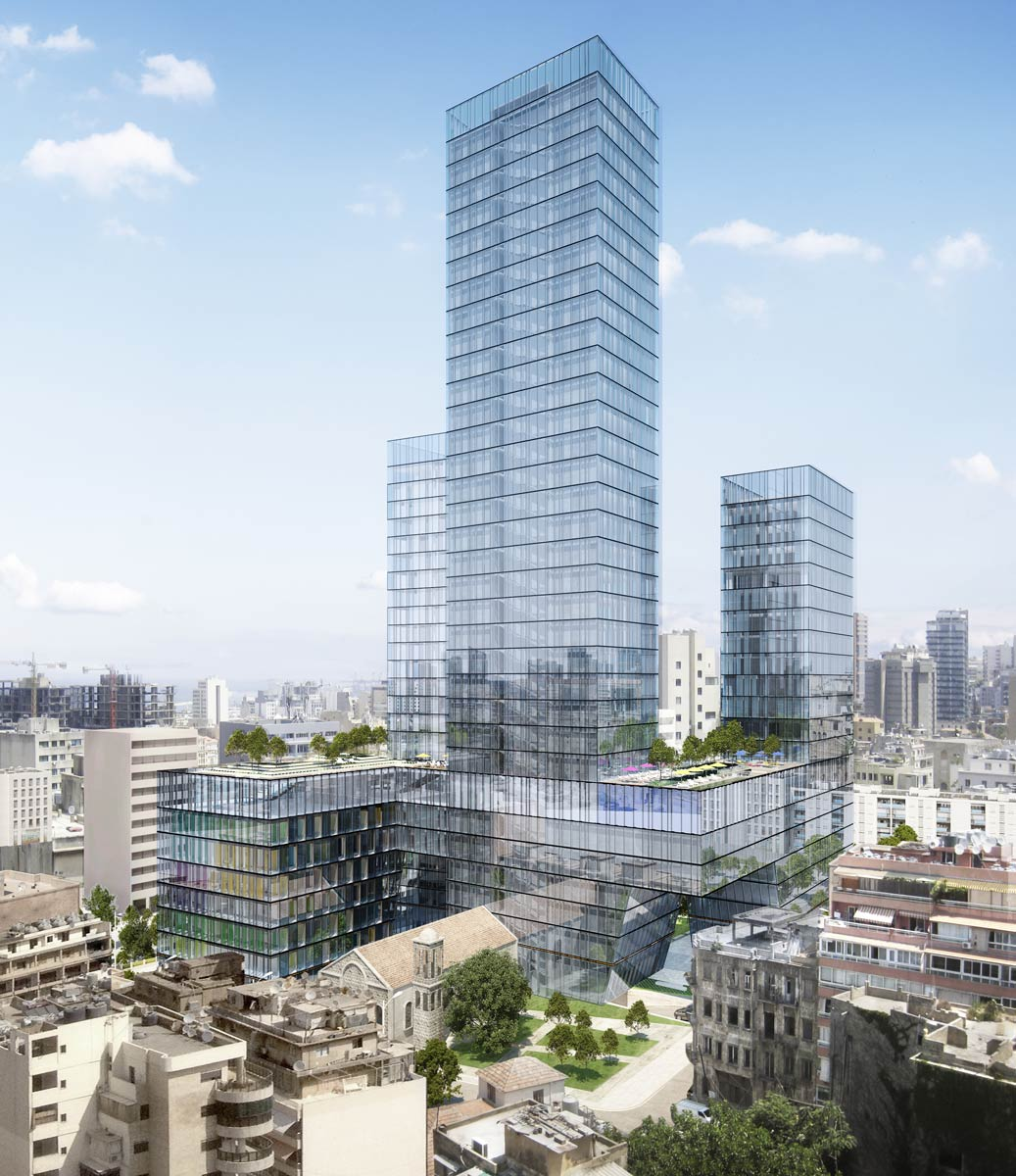 architectural visualisations building beirut