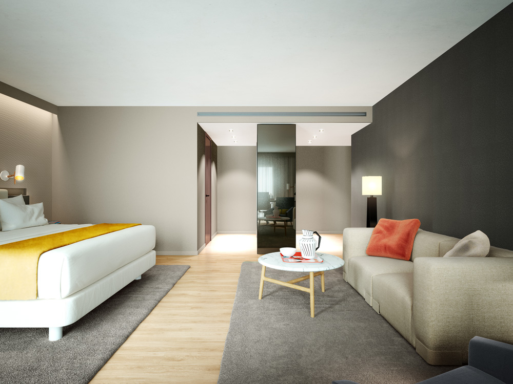 architectural visualization hotel lisbon