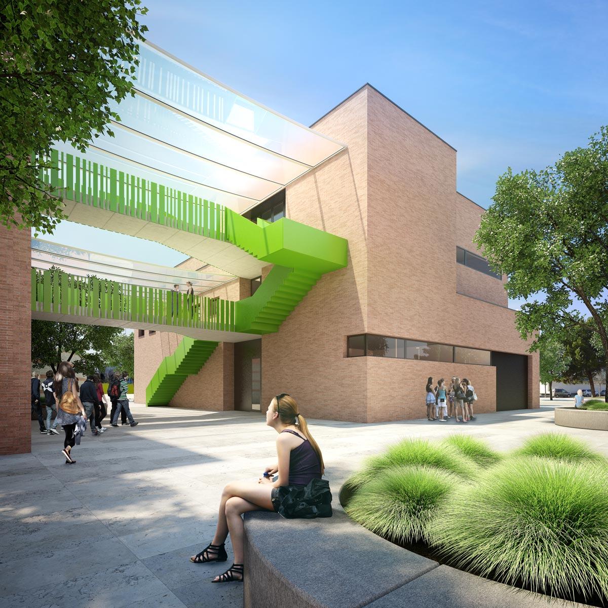 architectural visualization university competition
