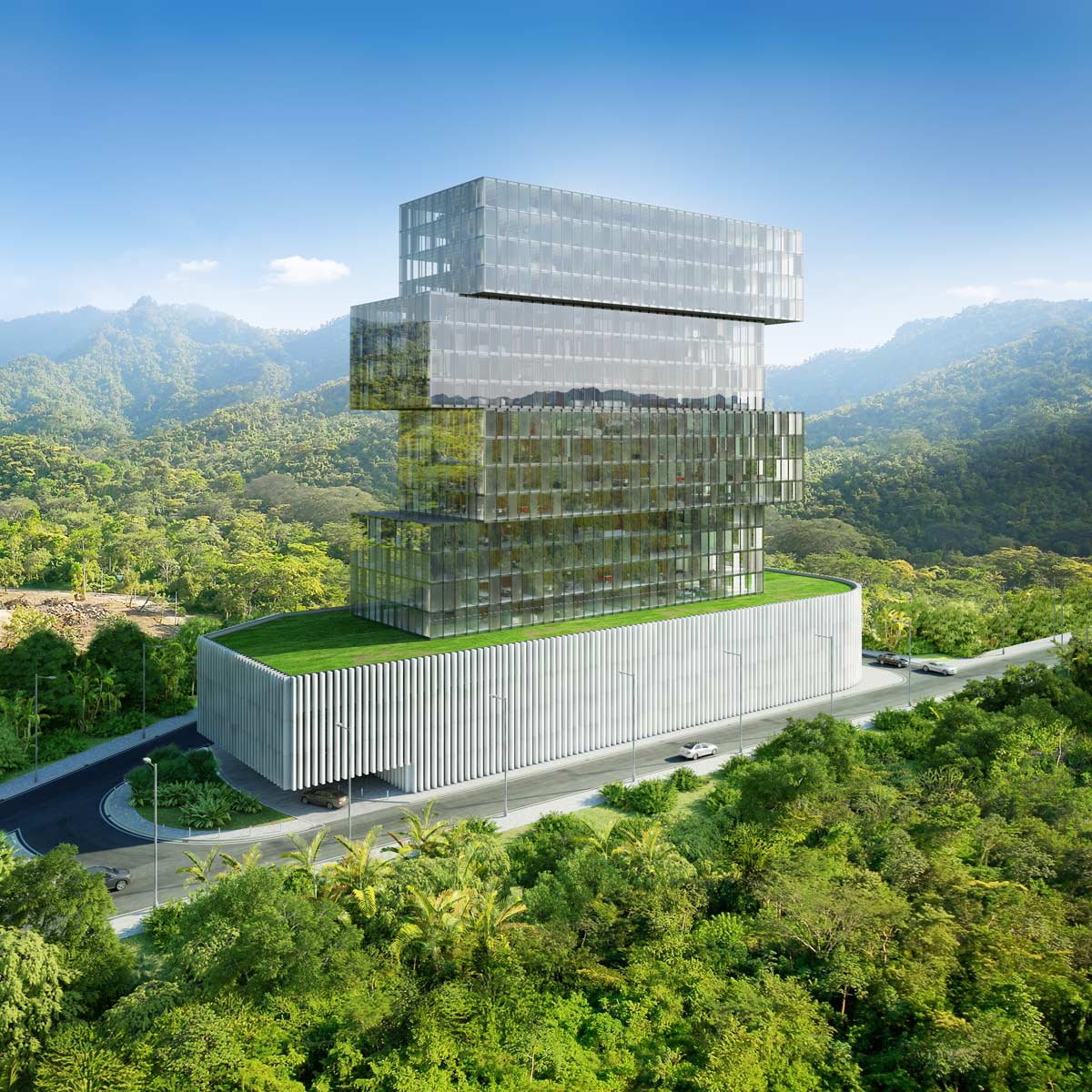 architectural visualizations building honduras