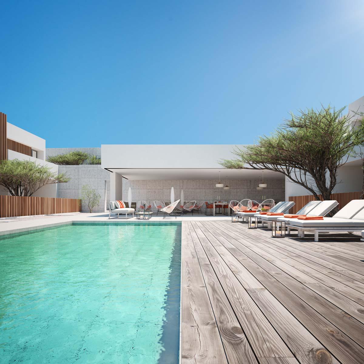 Architectural rendering El Gouna