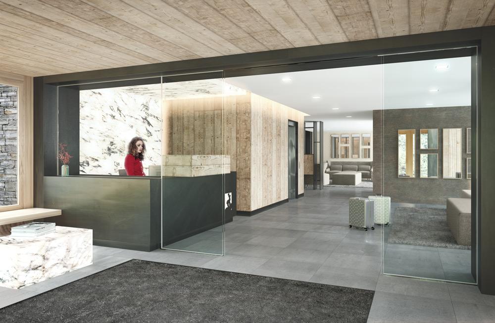 architecture rendering interior