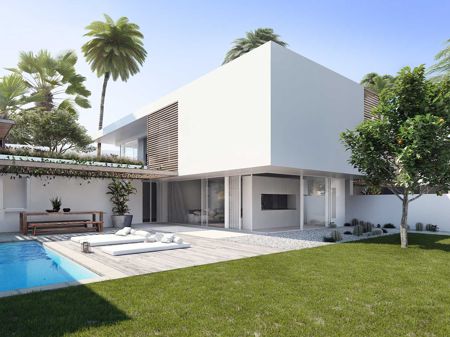 Design & architectural visualisation Lemon Tree