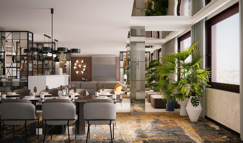 Hotel rendering Sofia Barcelona