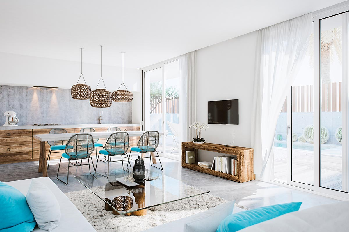Interior architectural visualisation Gouna