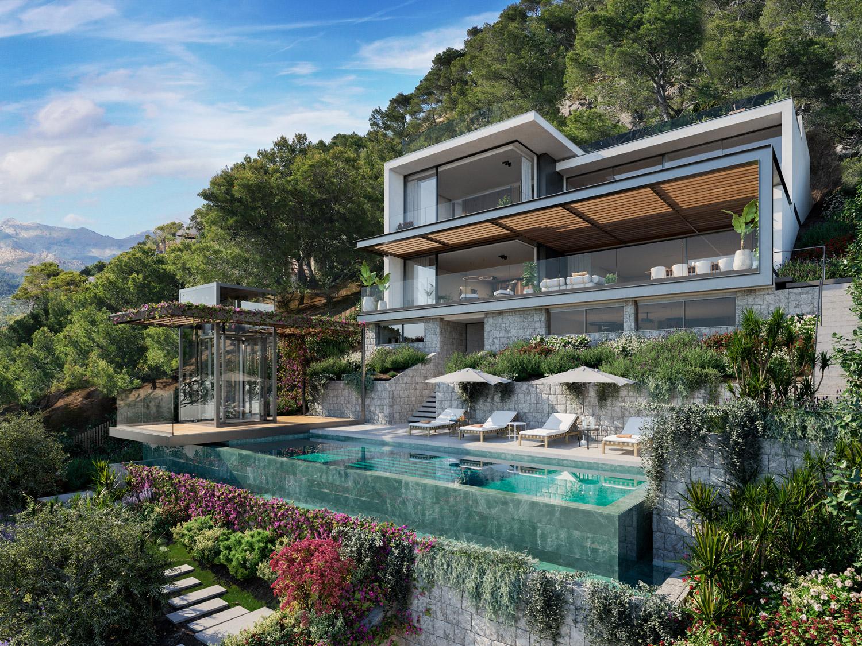 rendering villa royale