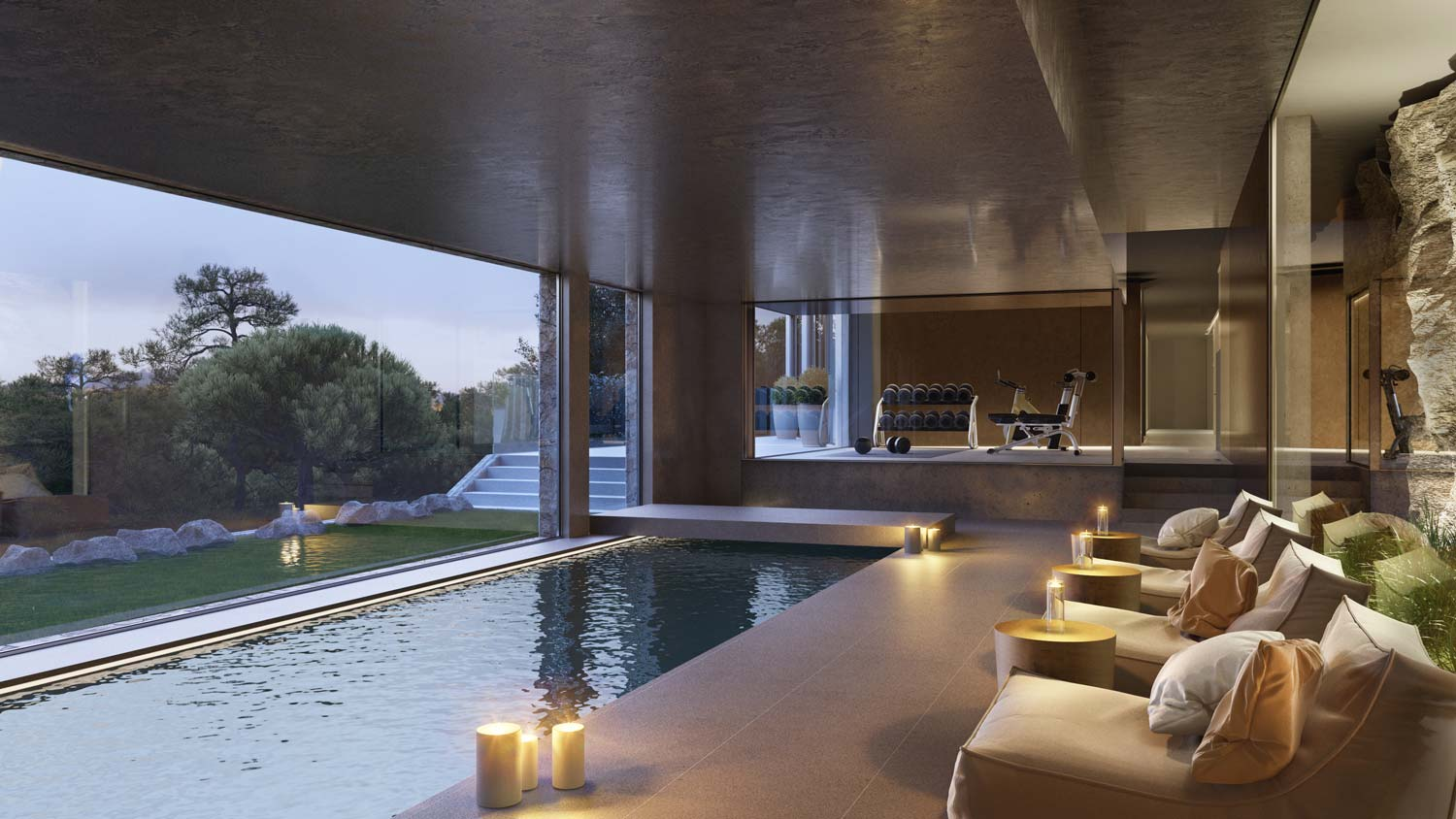 Spa luxury villa Son Vida