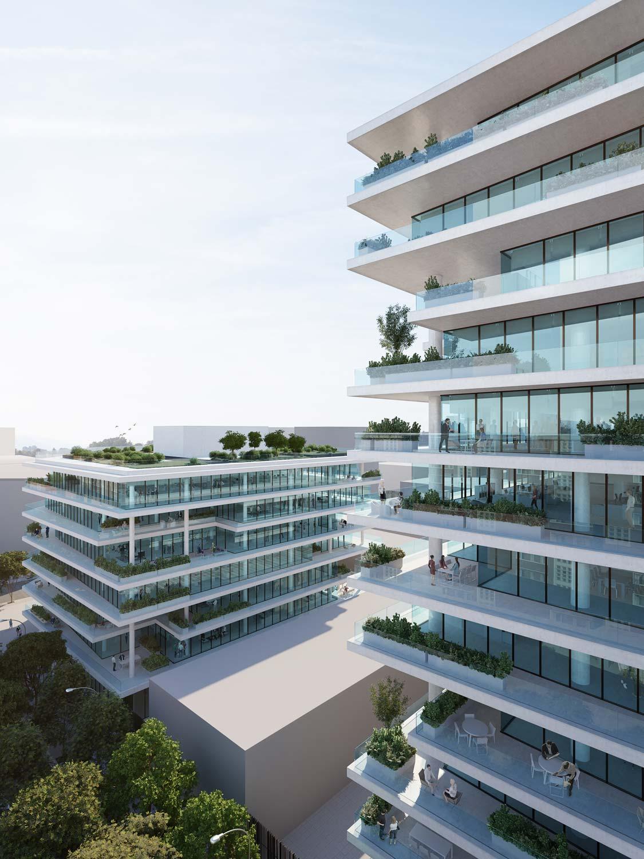 visualisation office building 22@