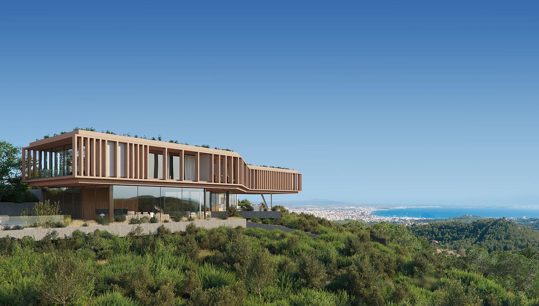 Visualisation villa llanterna Mallorca